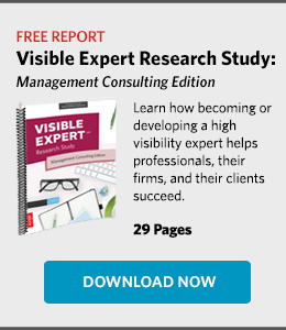 Free Report - Visible Expert Research Study: Management Consulting Edition